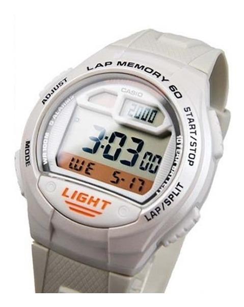Reloj Casio W 734 Sumergible Hombre GSzpqUMV