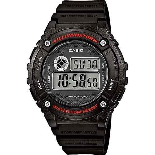 Reloj Casio Hombre W 216h 1a Digital Iluminador