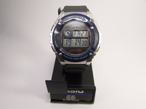 reloj casio hombre w-216h alarma envio gratis |watchito|