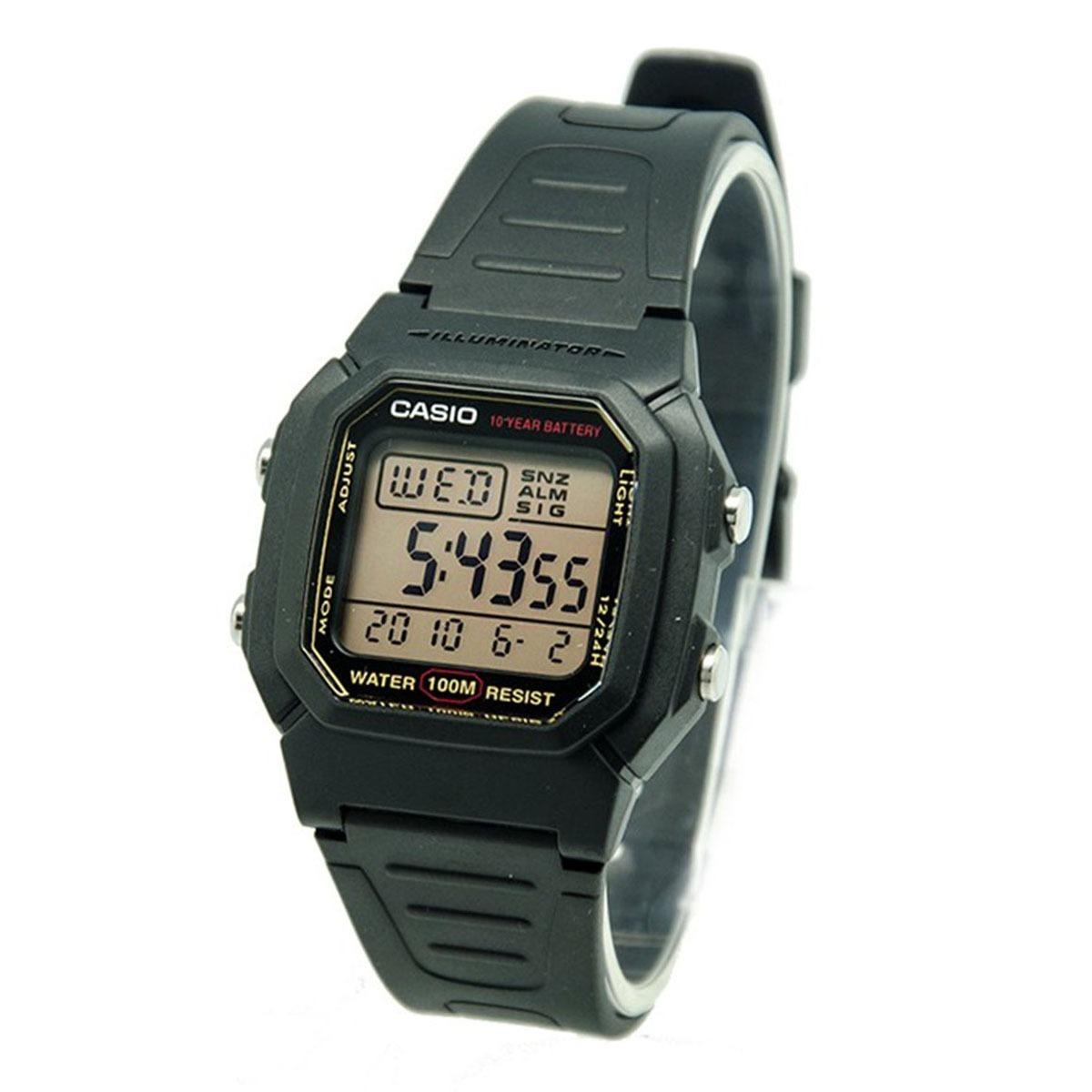0387f0ad43d1 reloj casio hombre w-800hg-9a sumergible. Cargando zoom.