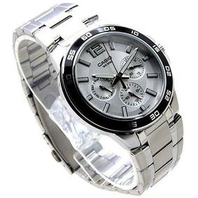 Reloj Casio Hombre,acero Pulido Y Satinado,cristal Mineral.