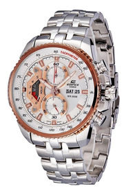 Reloj Casio Hombre,excelente Estética,cristal Mineral,acero.
