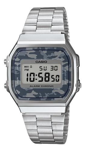 reloj casio illuminator a168wec-1vt original unisex e-watch