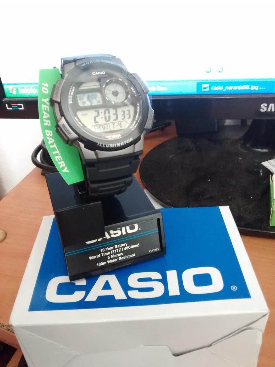 8eddbe048ac6 reloj casio illuminator deportivo y casual original negro. Cargando zoom.