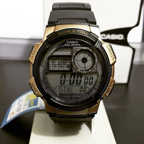 reloj casio illuminator original deportivo ae1000