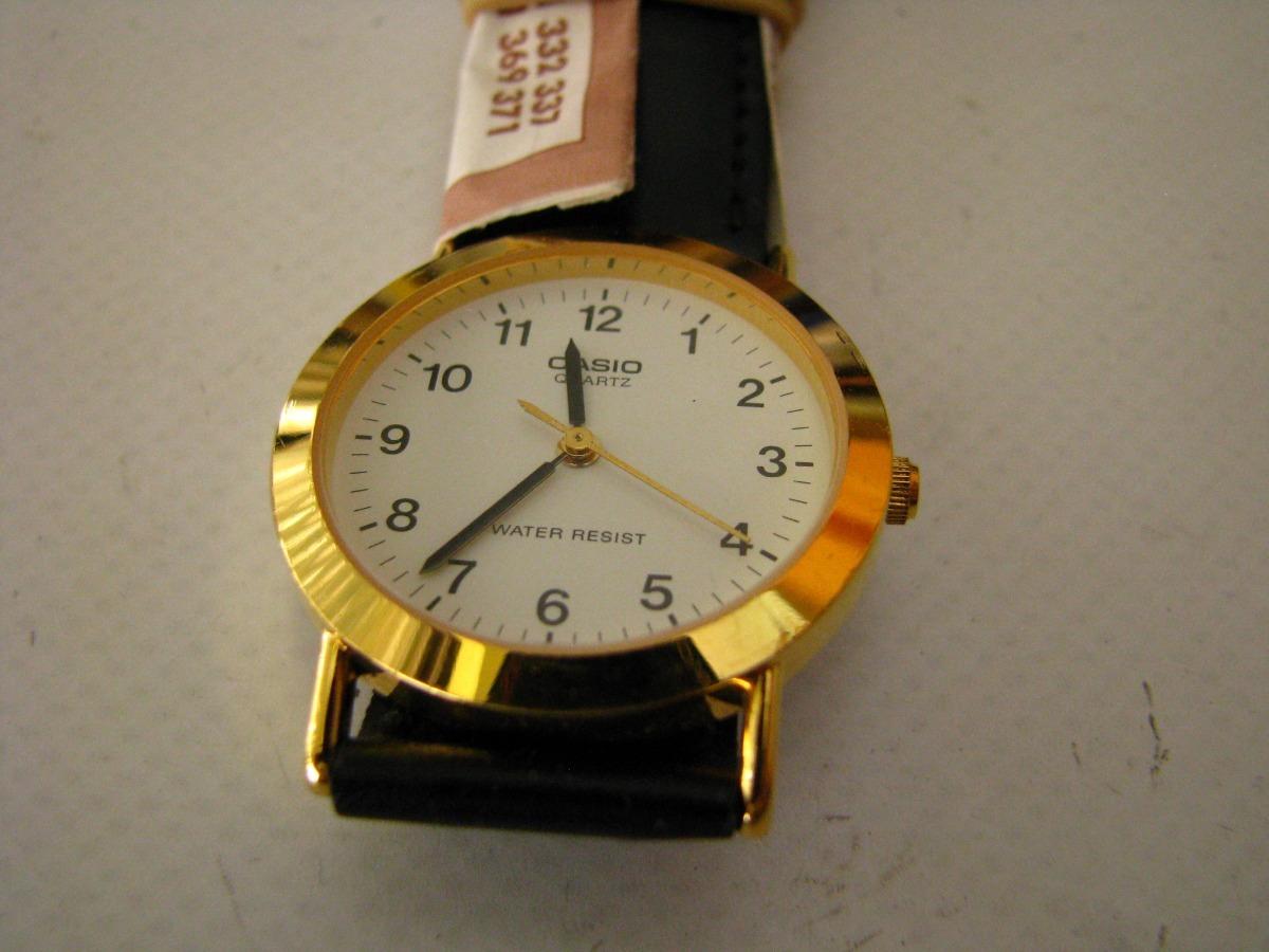 Cristal Cuero Casio Mtp Junior Reloj Cuarzo 1003l 3R5AL4j