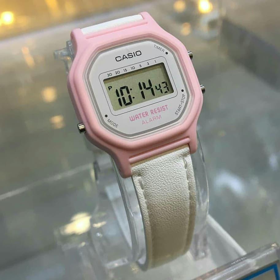 e120e032f21c reloj casio la-11wl retro vintage alarma dama cuero. Cargando zoom.