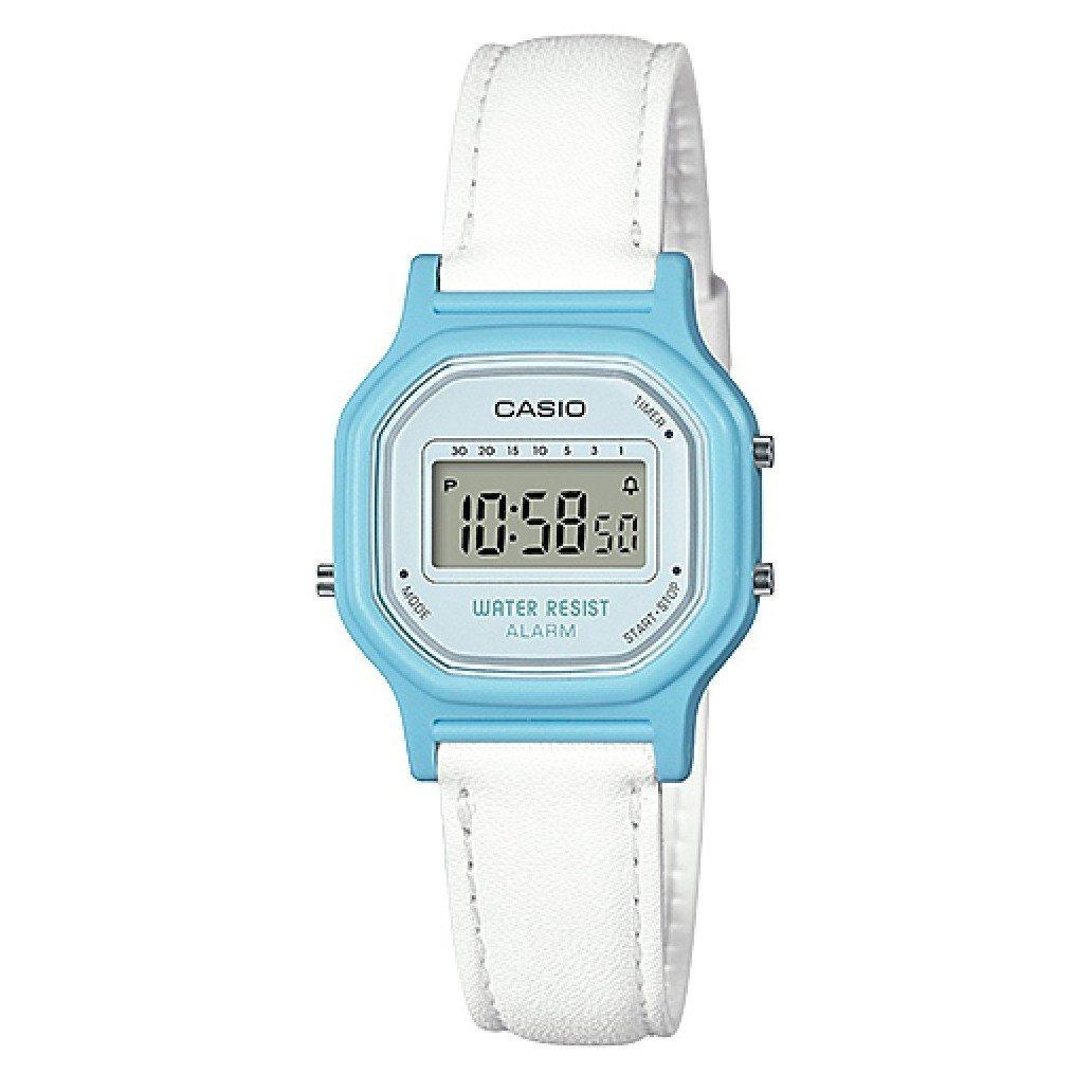 0a7d1906a735 reloj casio la-11wl retro vintage alarma dama cuero wr 30m. Cargando zoom.
