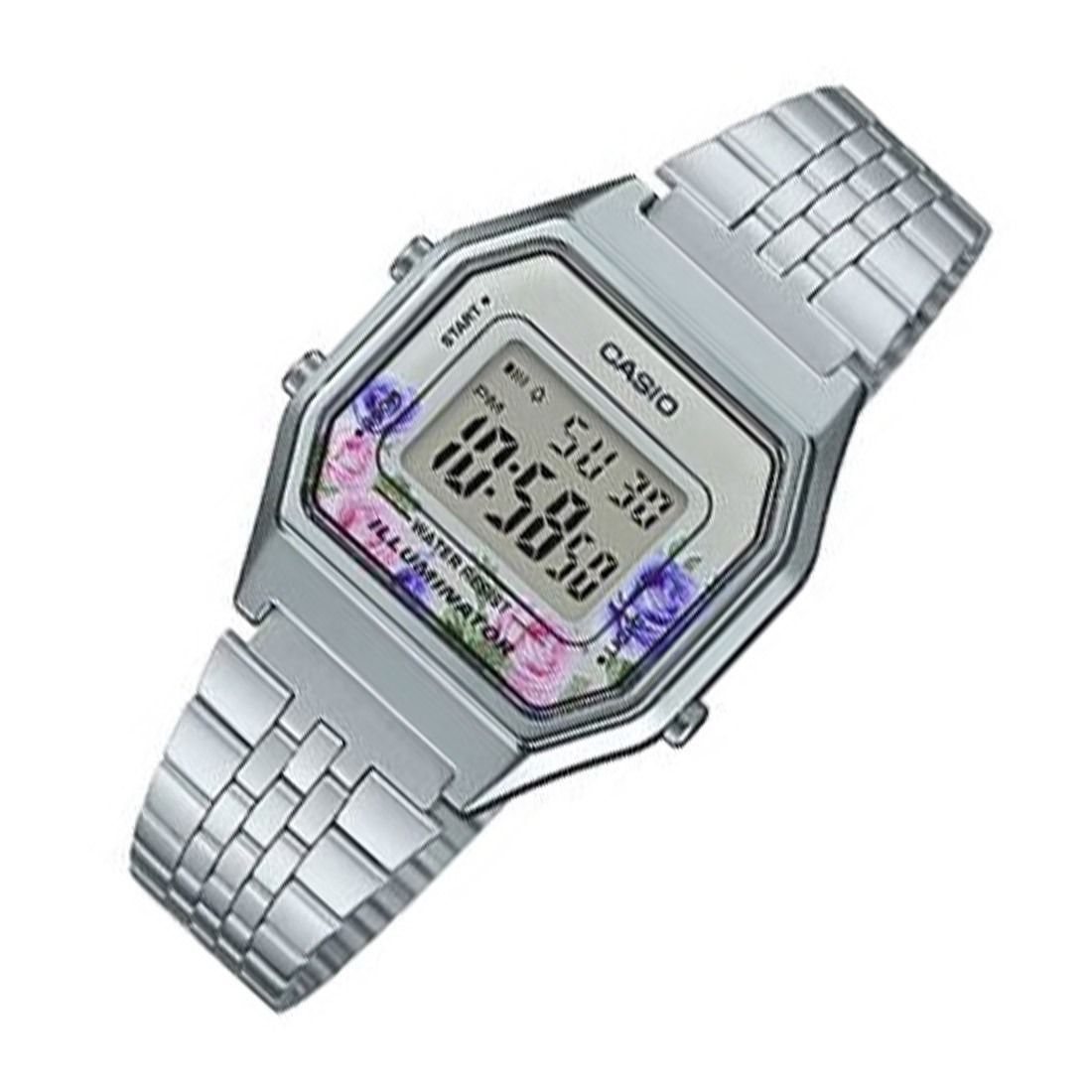 680wa 6 Selfie Reloj Casio La Flores Cuotas 4c Vintage uwkiZOPXT