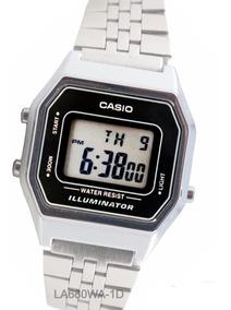Reloj La Casio Retro 680wa Silver Crono Vintage Alarma Lady dBexoC