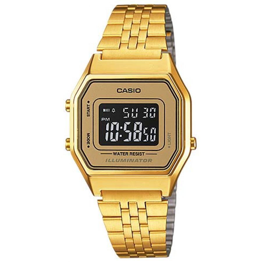 a914a113d13c Reloj Casio La-680wga-9b Digital Dorado Pulso Acero Inoxidab -   149.900 en  Mercado Libre