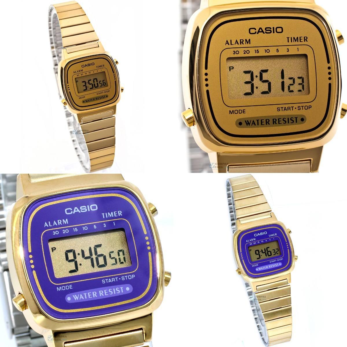 7961847e882d reloj casio la670 dorado retro vintage para dama - cfmx. Cargando zoom.
