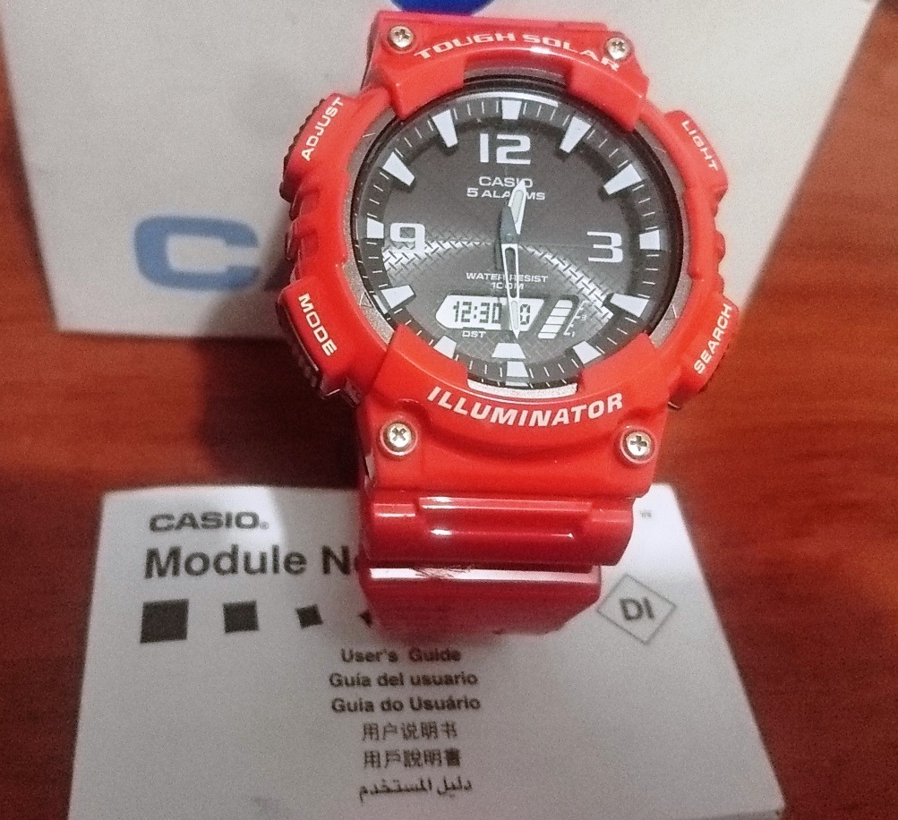 c880fca80e0d Reloj Casio Liquidación-35%tough Solar Illuminator Original ...