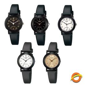 Dama Reloj Analogico Resina Lq Correa Casio 139 Mujer xrdoeWCB