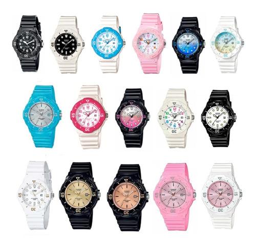 reloj casio lrw 200 nc de dama garantía oficial