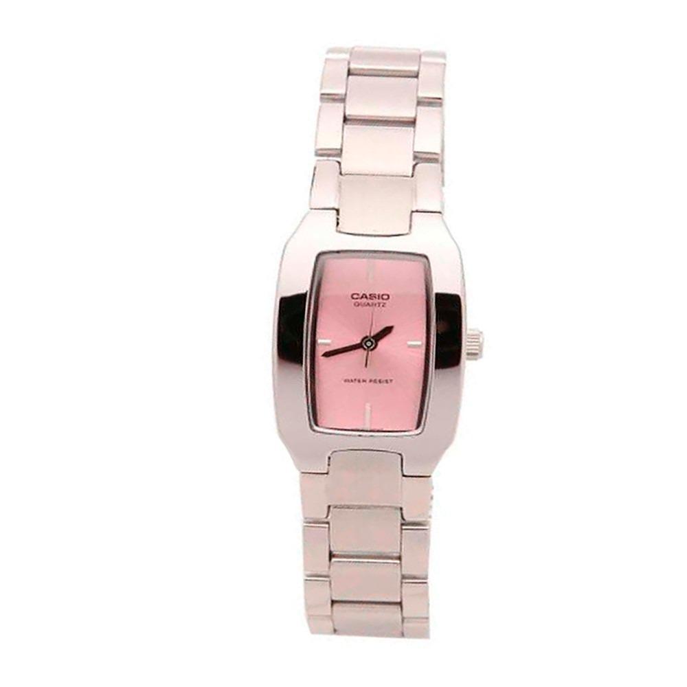 ab4d3ba7b8ce Reloj Casio Ltp 1165a 4c Acero Plateado Rosa Mujer -   108.900 en ...
