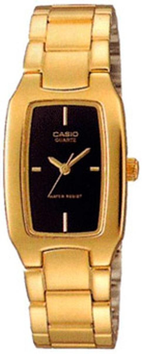 2577be6f01e4 Reloj Casio Ltp-1165n-1c Dorado Para Mujer -   109.900 en Mercado Libre