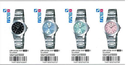 reloj casio ltp 1177 mujer original