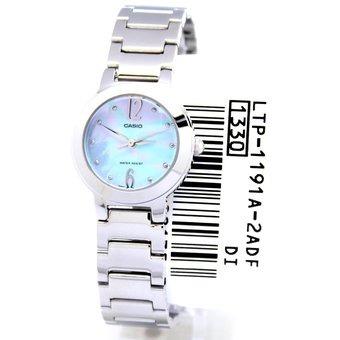 e29192113e35 Reloj Casio Ltp 1191a 2a-plateado Con Azul Para Mujer -   142.900 en ...