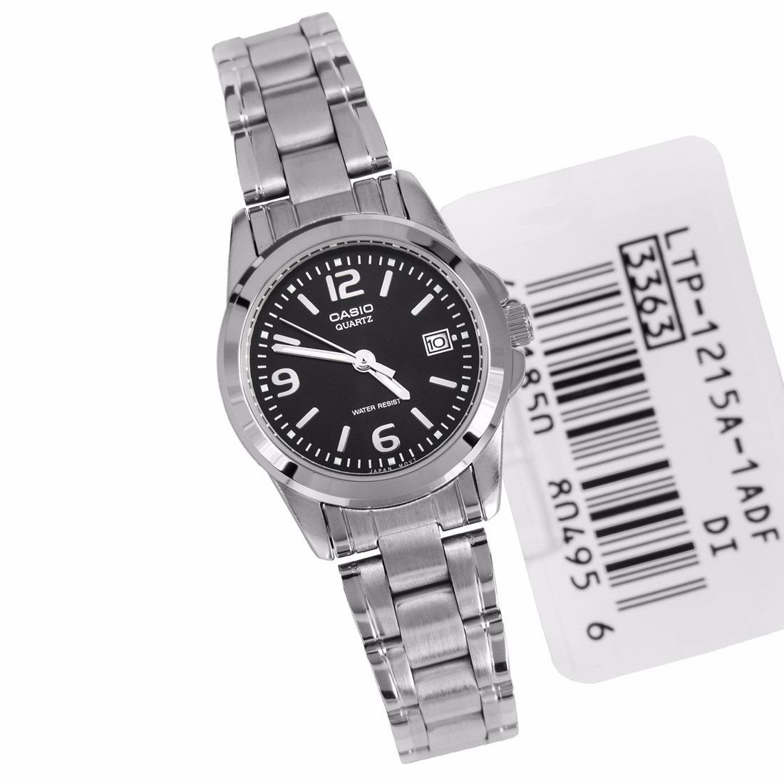 cd3277c59adc Reloj Casio Ltp-1215a-1 Mujer Acero W Resist Rosario -   2.473