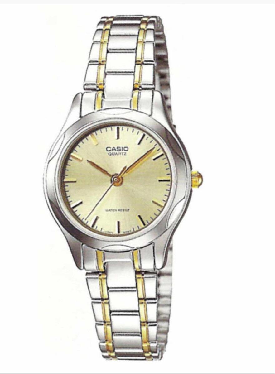 bastante agradable 6ecfa 8849a Reloj Casio Ltp-1275sg Analogico Mujer Acero Inoxidable