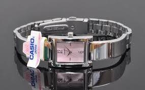 Casio Ltp 1295d Acero Reloj Inoxidable Dama Cristal Mineral TK3u1JlFc