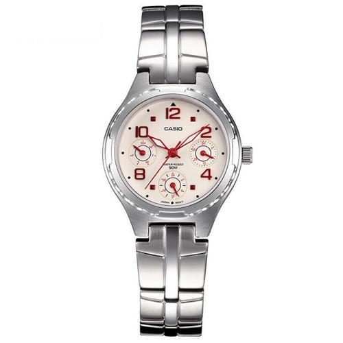 reloj casio ltp 2064a 7a2  p/ dama mineral glass original