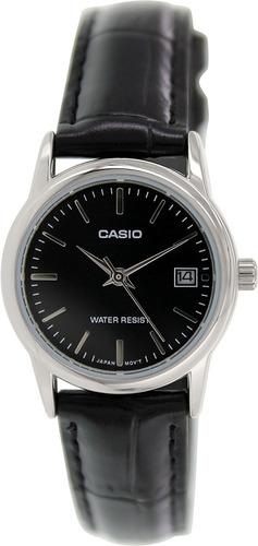 reloj casio ltp-v002l-1audf negro