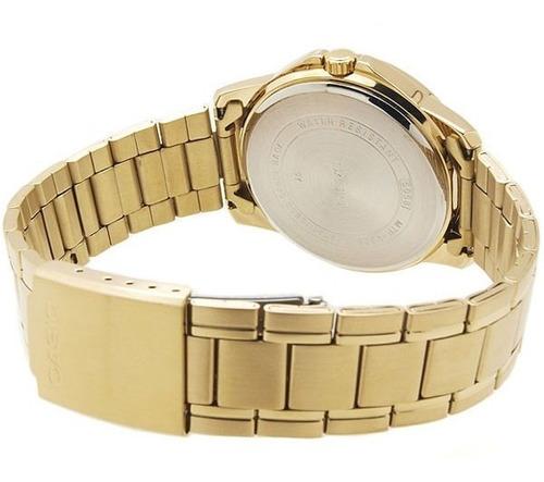 reloj casio ltp-v004g  mujer calendario acero 100% original!