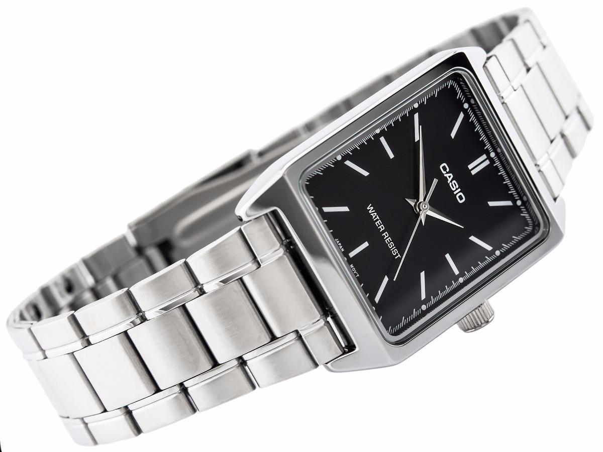13e274ce7b54 reloj casio ltp v007d-1-2 acero inoxidable plateado origina. Cargando zoom.