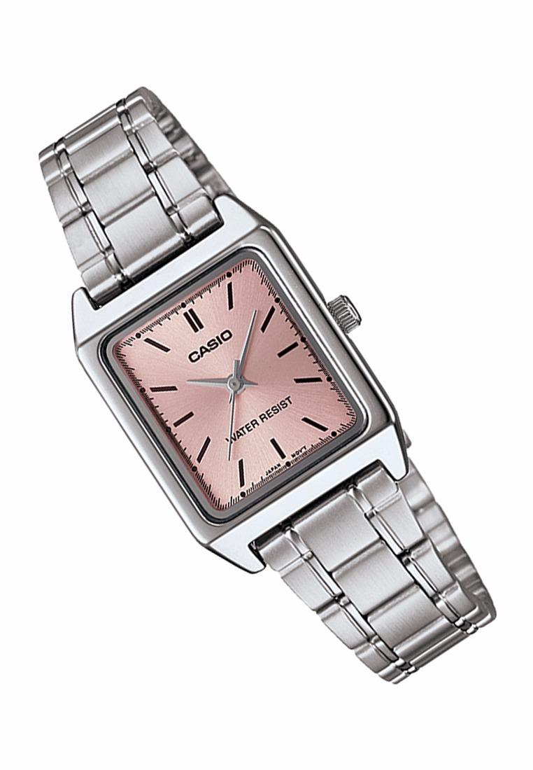 5cf920c9fb88 reloj casio ltp v007d-7-4 acero inoxidable plateado origina. Cargando zoom.