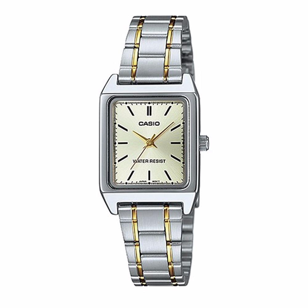 eeacfeba1385 reloj casio ltp v007sg-9 acero inoxidable plateado original. Cargando zoom.