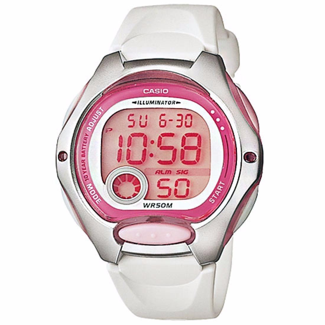 reloj casio lw-200-7a para dama en resina blanco digital. Cargando zoom. 59259e02a209