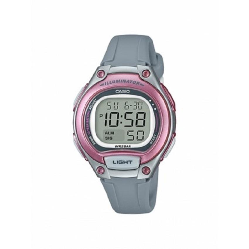 55403d03b81c Reloj Casio Lw-203-8a Digital Gris rosado Para Mujer -   84.500 en ...