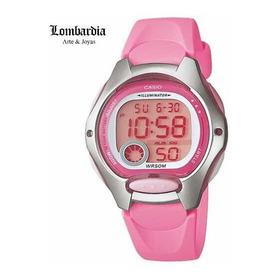 Reloj Casio Lw200 Rosado, Envío Gratis A Todo El País.