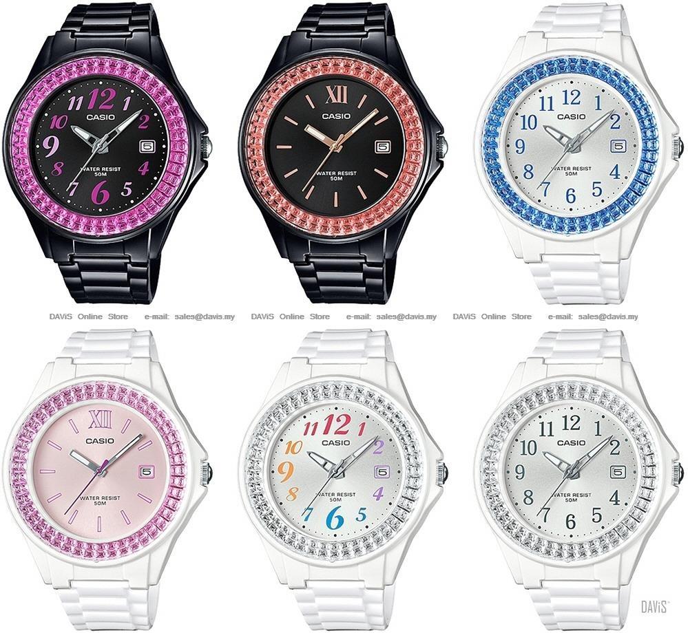 Reloj Casio Lx-500h Mujer Fecha Marco Brillante Original - $ 94.900 ...