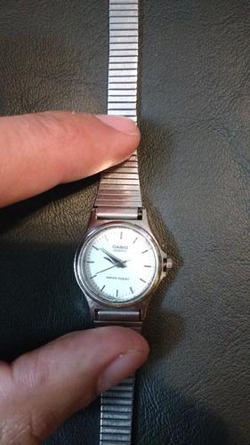 reloj casio malla corrediza como nuevo c/ garantia ¡¡¡¡¡¡¡¡¡