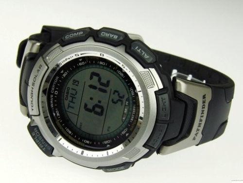 reloj casio men's paw1300-1v pathfinder compass multi-band a