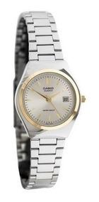 Ltp Casio Dama Plateado 7a Metal Relojesymas Reloj 1170g trCQsxhd