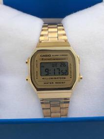 ventas calientes c8547 1477d Reloj Casio Mini Dorado Vintage Dama A168