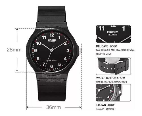 reloj casio modelo clasico mq 24 varios colores original