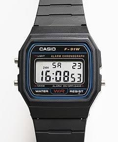 ea8cc6dee12 Reloj Casio Modelo F - 91 -   349.00 en Mercado Libre