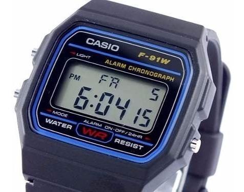 bda7a0efbc00 Reloj Casio Modelo F91 Unisex Original 100% -garantizado -   39.900 ...