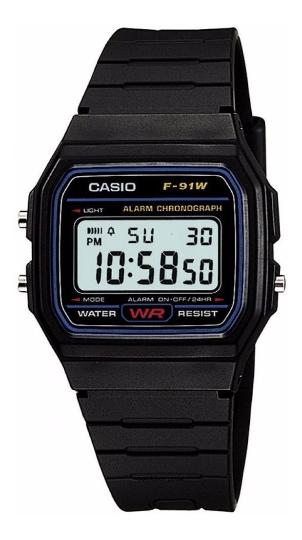 678a8d85d376 reloj casio modelo f91 unisex original 100% -garantizado. Cargando zoom.