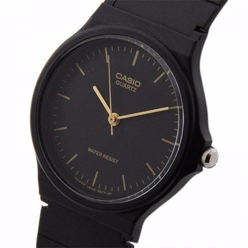 e30f58d22965 Reloj Casio Mq 24-1e Original Manecillas Negro Y Dorado -   279.00 ...