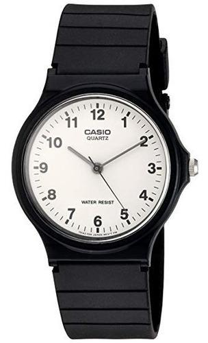 reloj casio mq24 -7 original caucho acero garantía oficial
