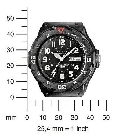 reloj casio mrw 200 h resiste agua 100m original garantizado