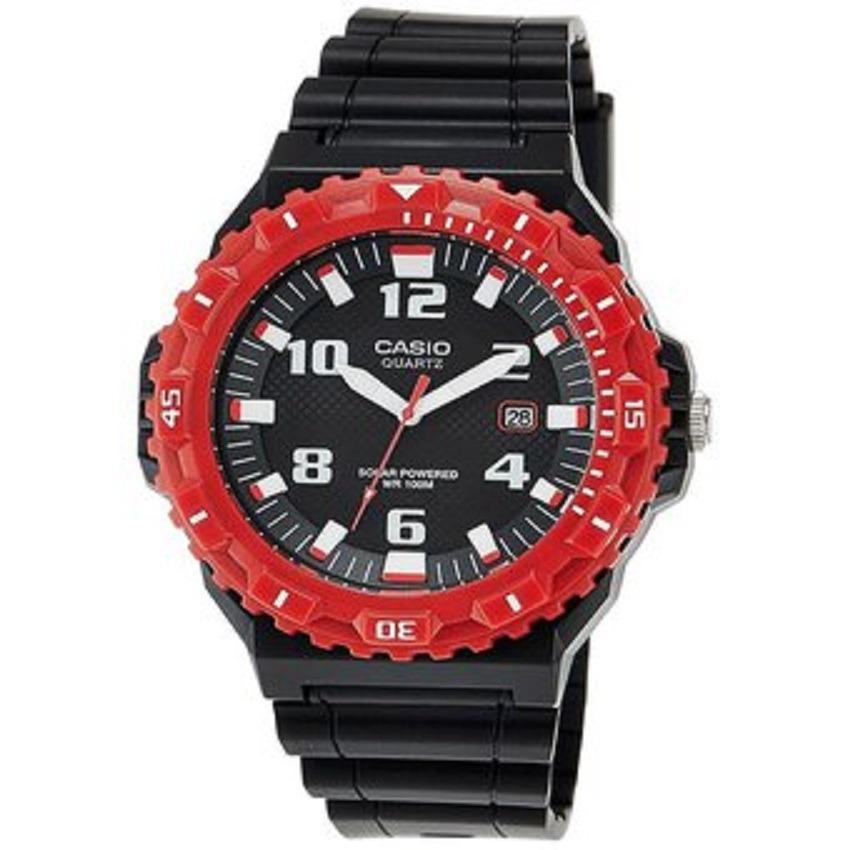 cbc37903cc53 Reloj Casio Mrw-s300h-4b Solar Negro rojo Para Hombre -   149.900 en ...