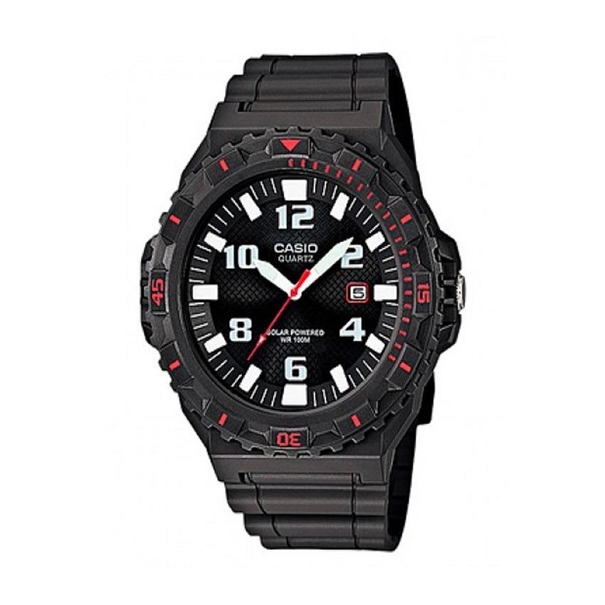 74453b02879c Reloj Casio Mrw-s300h-8b Solar Negro rojo Para Hombre -   149.900 en ...
