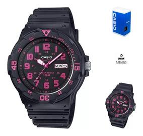 Reloj NegrowatchsalasFull Mrw200 Mujer Caucho Casio UVpMzLqSG